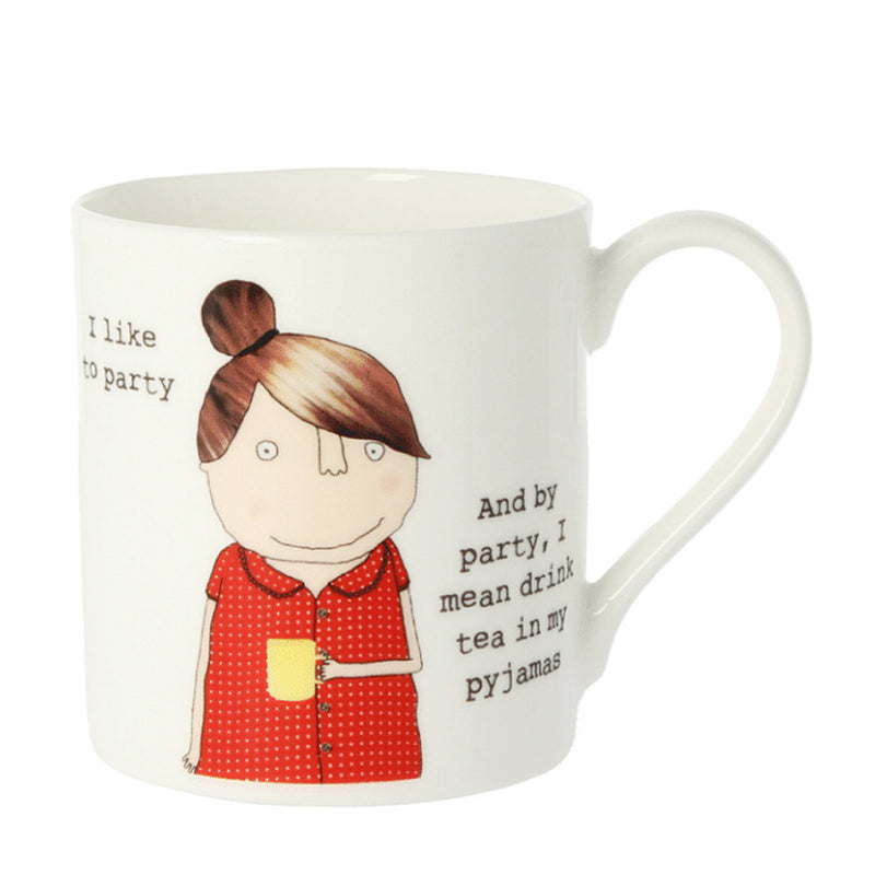 McLaggan Rosie Made A Thing Pyjama Party Bone China Gift Mug