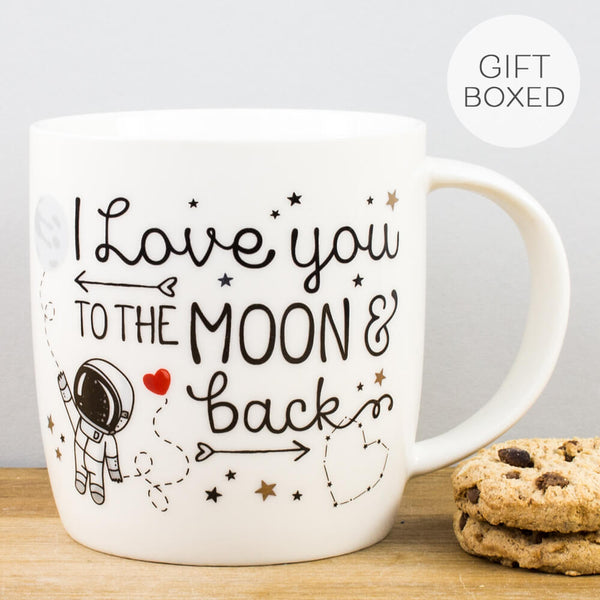 Buongiorno Love You to the Moon and Back China Mug