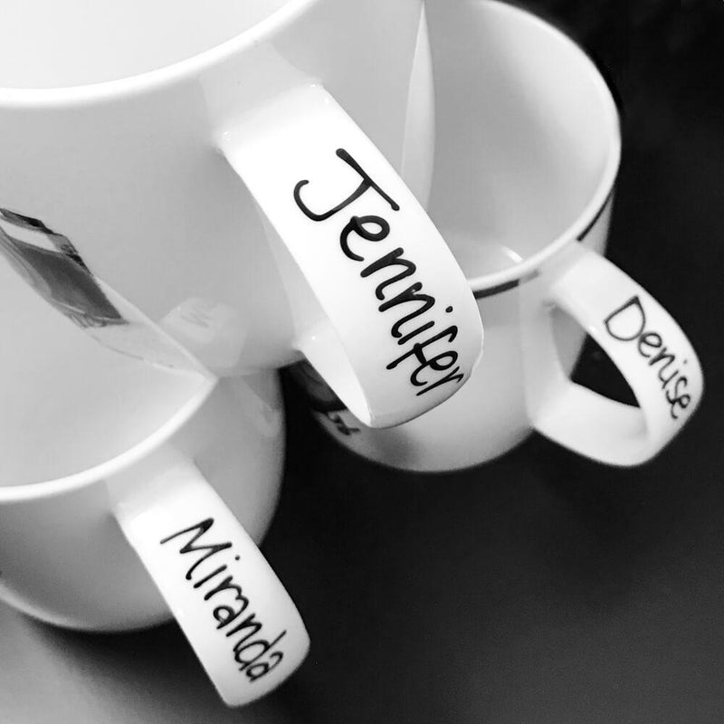 Mug Personalisation Service (For a 2 Mug Set)