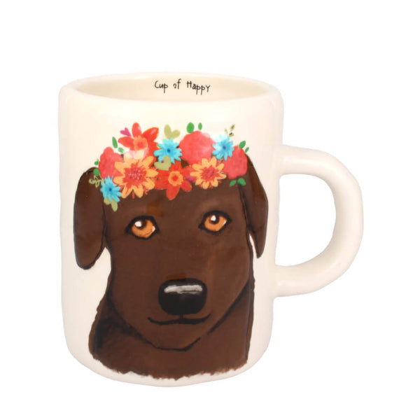 Cup Of Happy Labrador Ceramic Mug