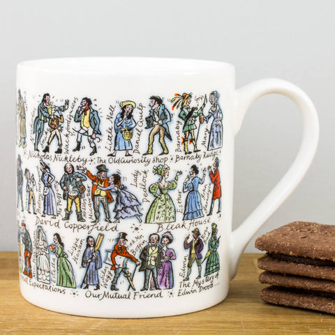 Charles Dickens China Mug by Picturemaps