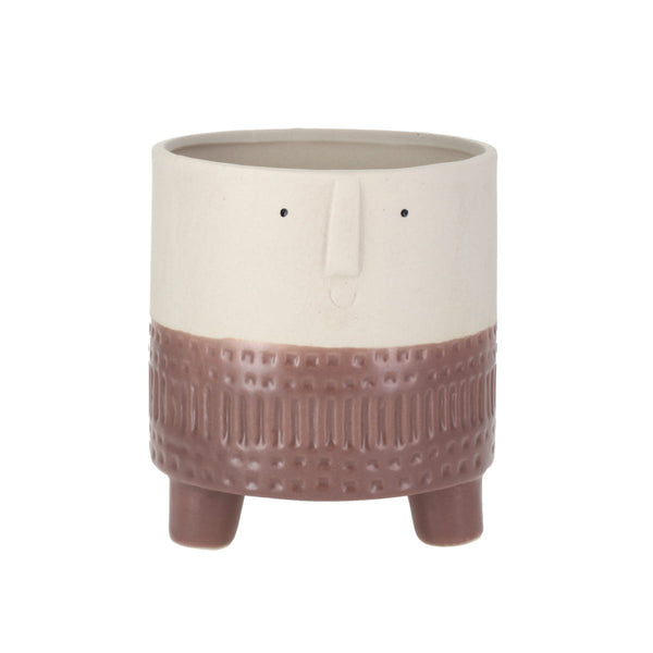 Arnold Terra Brown Small Planter