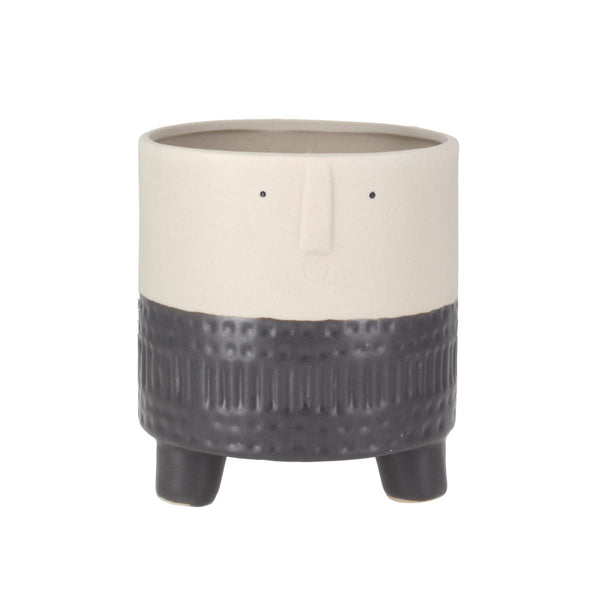 Arnold Terra Grey Small Planter