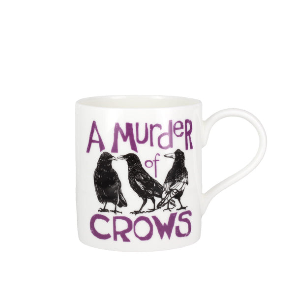 Collective Nouns A Murder of Crows China Mug
