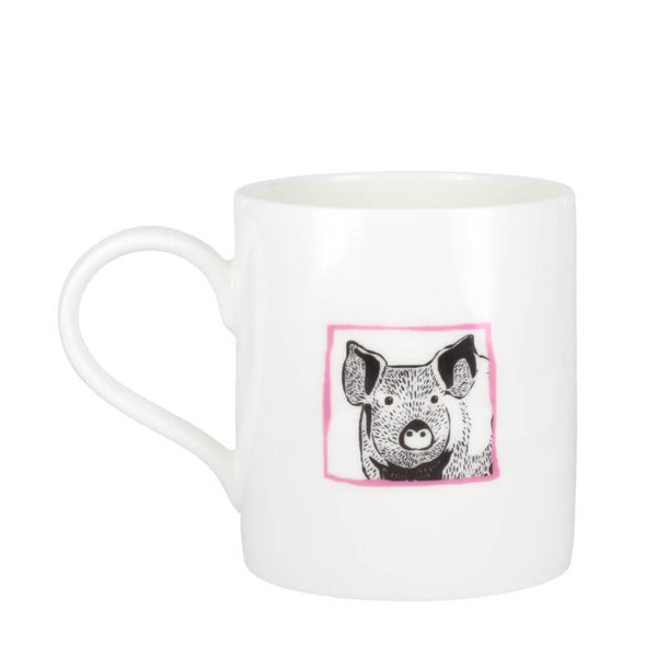 Perkins & Morley Collective Nouns A Parcel of Hogs Fine Bone China Mug