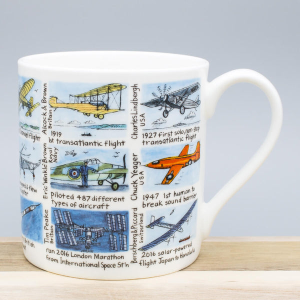Picturemaps Aviation History China Mug