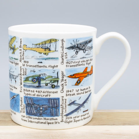 Aviation History China Mug by Picturemaps
