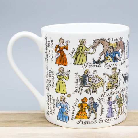 The Brontë Sisters China Mug by Picturemaps