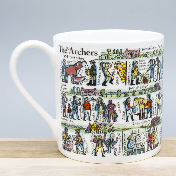 Picturemaps The Archers China Mug
