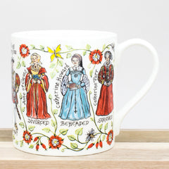 McLaggan Picturemaps Wives of King Henry VIII Bone China History Mug