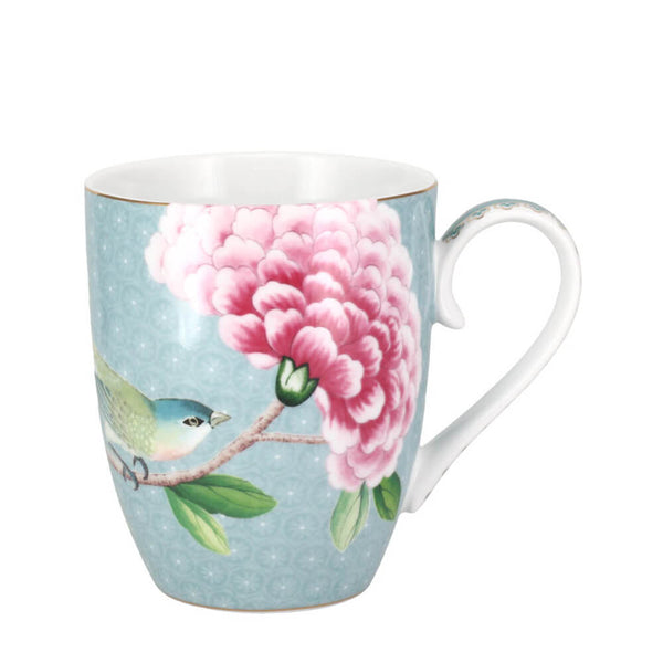 Pip Studio Blushing Birds Blue Mug