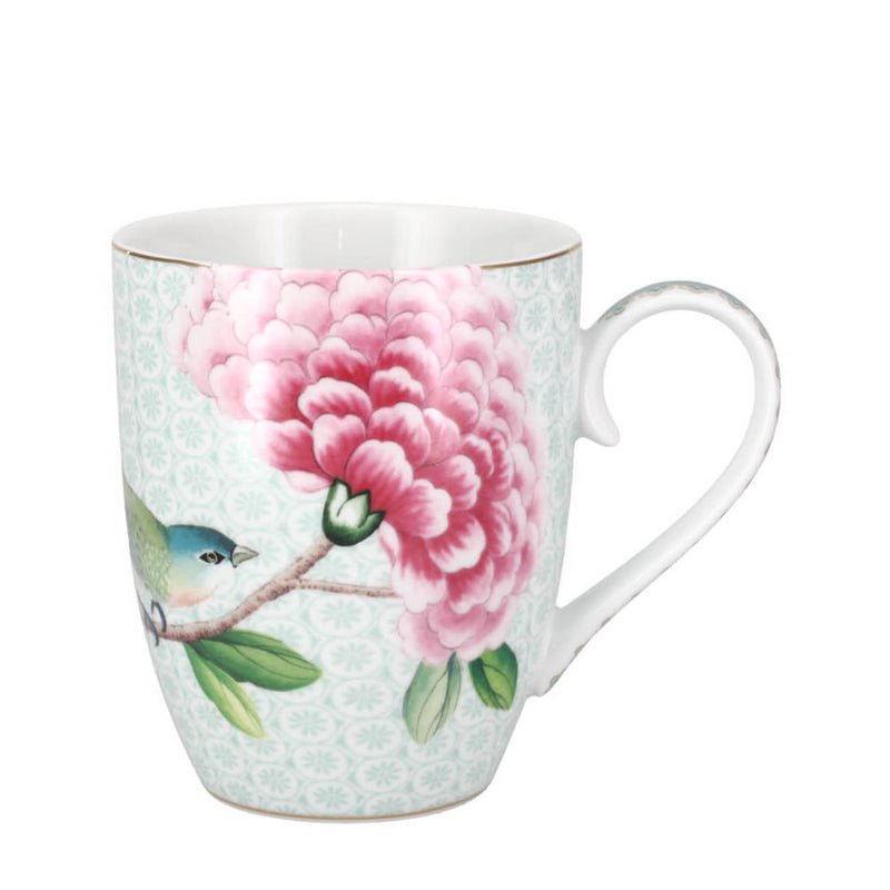 Pip Studio Blushing Birds White Mug 350ml Porcelain Coffee Cup