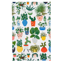 Ulster Weavers Palm House Green 100% Cotton Kitchen Tea Towel