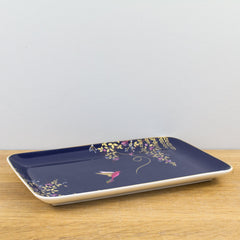 Portmeirion Sara Miller Chelsea Collection Gold Boxed Trinket Dish