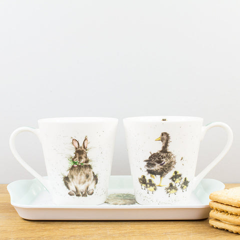Wrendale Designs Mug & Tray Set by Pimpernel