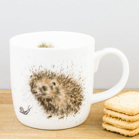 Wrendale Designs Prickled Tink China Mug by Royal Worcester