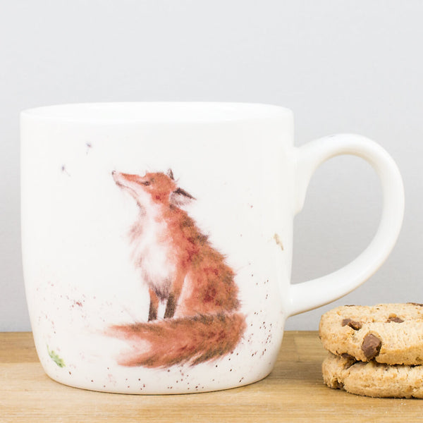 Wrendale Designs The Artful Poacher China Mug