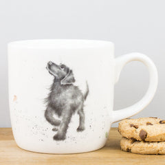 Wrendale Designs Walkies Labrador Dog China Gift Mug