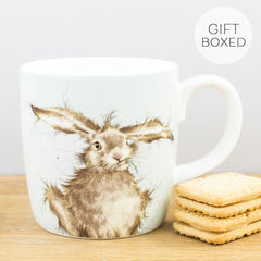 Royal Worcester Wrendale Designs Hare Brained Bone China Gift Box Mug