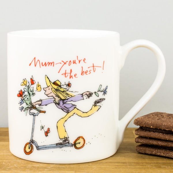Quentin Blake Mum, You're the Best China Mug