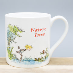 Quentin Blake Nature Lover Bone China Gift Mug Outdoors Themed Cup