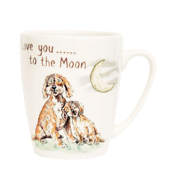 A Ray of Sunshine Love You To The Moon China Mug