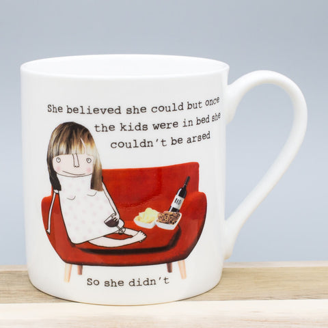 McLaggan Rosie Made A Thing She Believed She Could China Mug £12.89