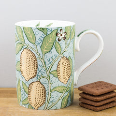 Royal Worcester William Morris Fruit Slate/Thyme Gift Boxed Mug
