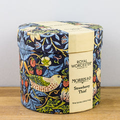 Royal Worcester William Morris Strawberry Thief Indigo Gift Boxed Mug