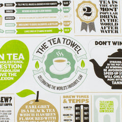 The Tea Towel 100% Cotton Tea Towel by Stuart Gardiner Made in the UK