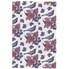 Thornback & Peel Blackbird & Bramble 100% Cotton Kitchen Tea Towel