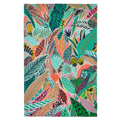 Ulster Weavers Tropical Leaf Colourful 100% Cotton Kitchen Tea Towel