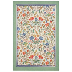 Ulster Weavers Arts & Crafts Floral Pattern 100% Linen Tea Towel