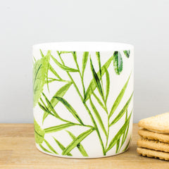 Ulster Weavers RHS Foliage Green Leaves China Personalised Gift Mug