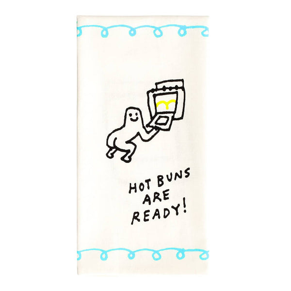 Hot Buns Are Ready Cotton Tea Towel