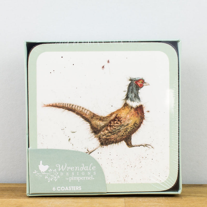 Pimpernel Wrendale Designs Set of 6 Animal Coasters