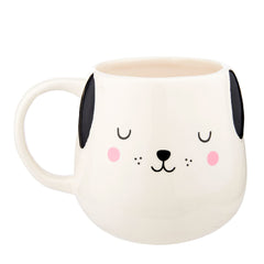 Barney the Dog Shaped Face Ceramic Gift Boxed Mug by Sass & Belle