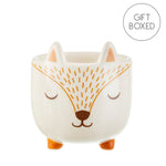 Sass & Belle Woodland Fox Mini Planter for Cacti & Succulents