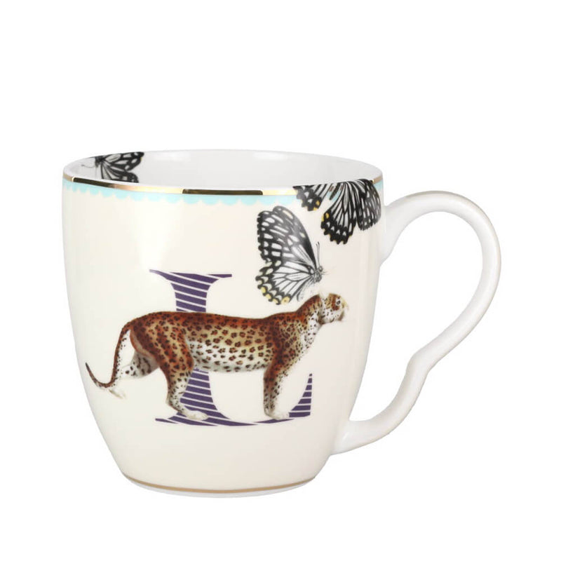 Yvonne Ellen Animal Alphabet China Mug