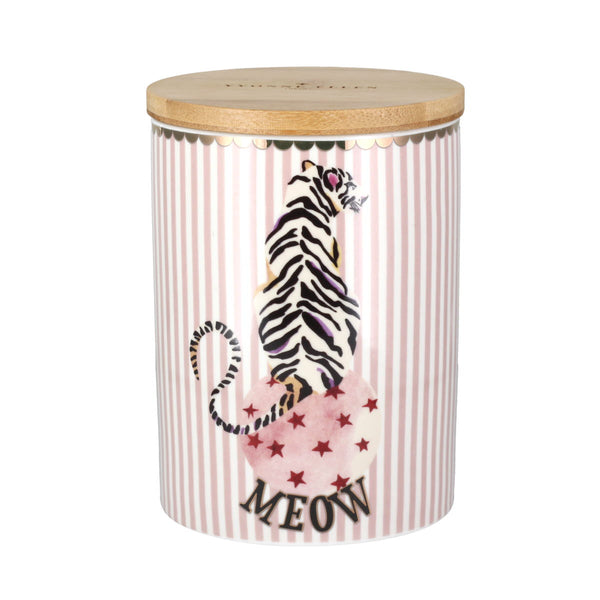 Yvonne Ellen Tiger Storage Jar