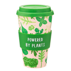 Sass & Belle Powered By Plants Bamboo Travel Reusable Coffee Cup