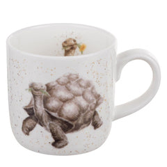 Royal Worcester Wrendale Designs Aged to Perfection Tortoise China Mug