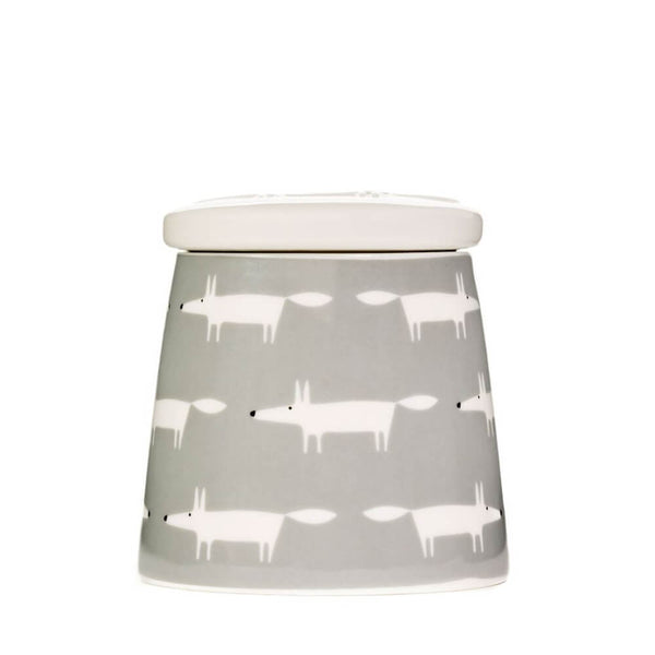 Scion Mr Fox Dove Grey Multi Small Storage Jar