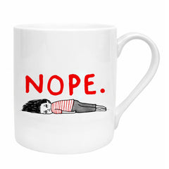 Gemma Correll NOPE. Bone China Mug by Ohh Deer UK Made