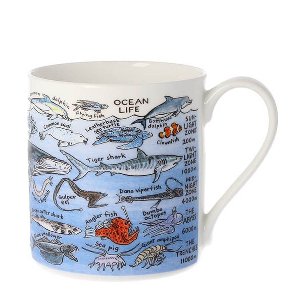 Picturemaps Ocean Life China Mug