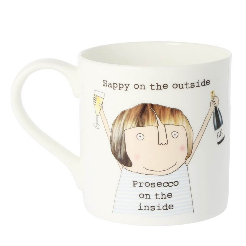 McLaggan Rosie Made A Thing Prosecco On The Inside Bone China Gift Mug