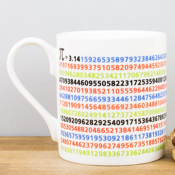 Educational Pi Mathmatical China Mug
