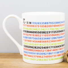 Educational Pi Math Bone China Personalised Gift Mug
