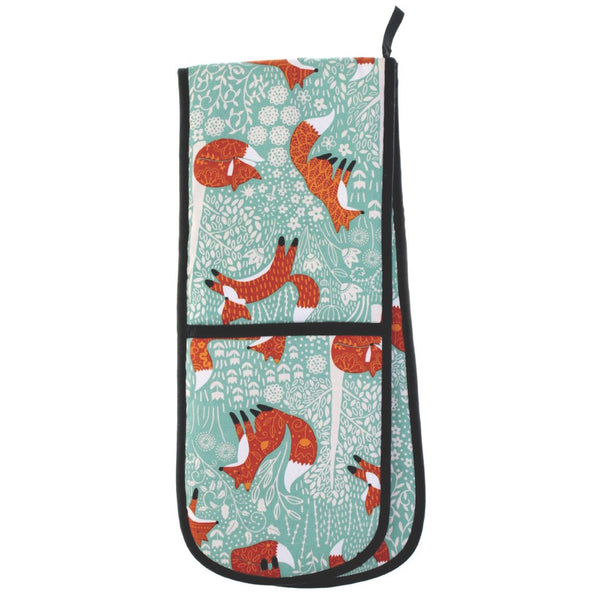 Foraging Fox Double Oven Glove