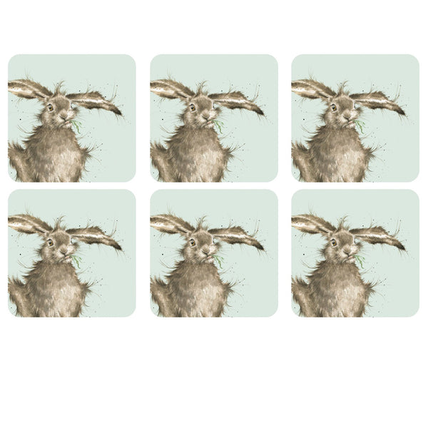 Wrendale Designs Hare Coaster Set